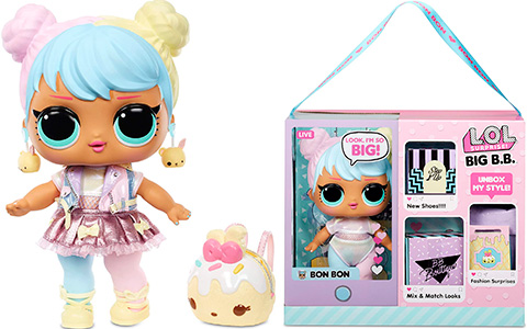 LOL Surprise Big B.B. (Big Baby) Bon Bon is up for pre-order on Amazon