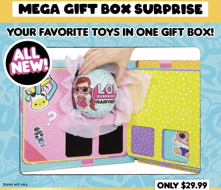 MEGA Gift Box Surprise