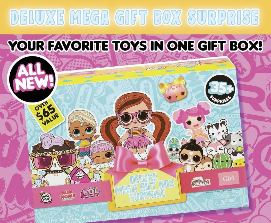 Deluxe Mega Gift Box Surprise