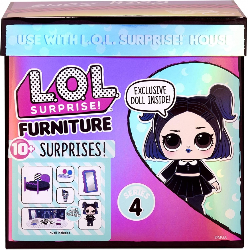 LOL Surprise Furniture series 4 with Dusk doll