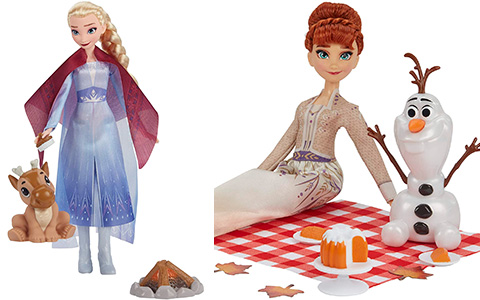 New Frozen 2 dolls from Hasbro 2021