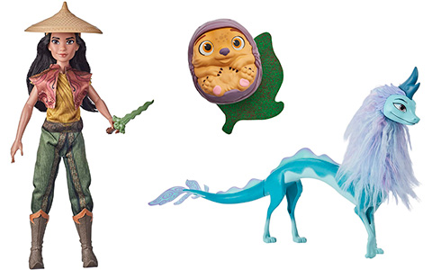 Disney Raya and The Last Dragon Hasbro dolls