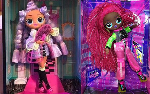LOL OMG Dance Dance Dance dolls: Major Lady, B-Gurl, Virtuelle and Miss Royale in 2021