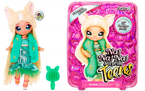 Na Na Na Surprise Teens Carmen Linda Chihuahua doll is available for order