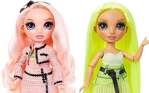 Rainbow High Karma Nichols and Bella Parker dolls are available on Amazon