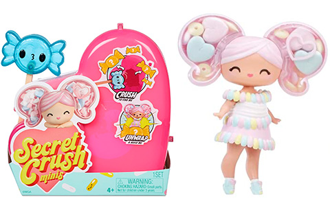 Secret Crush Minis Series 2 dolls