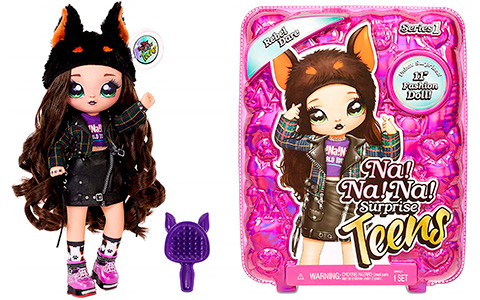 Na Na Na Surprise Teens Rebel Dare Doberman doll is available for preorder