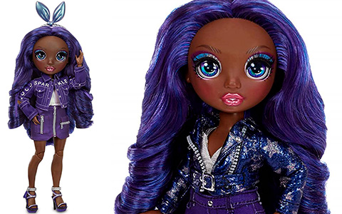 Rainbow High Indigo Krystal Bailey doll is available now on Amazon