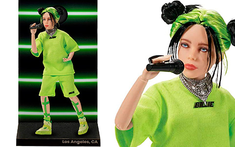 Billie Eilish LA Live new fashion doll