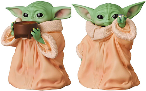 Medicom will release three new Grogu The Child Baby Yoda figures