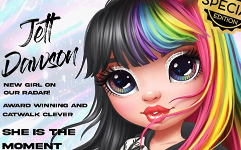 Rainbow High Jett Dawson new special edition doll