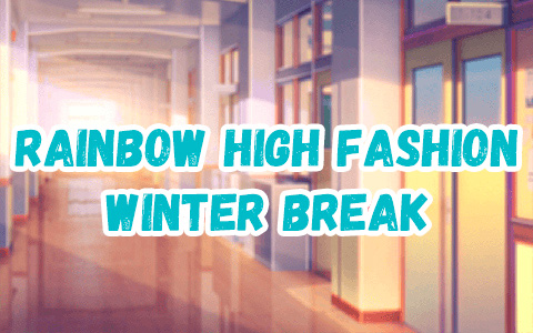 Rainbow High Fashion Winter Break dolls
