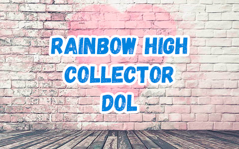 Rainbow High Collector Edition Jett Dawson doll 2021