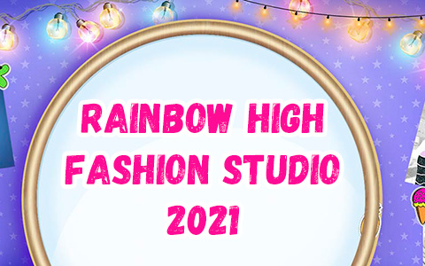 New Rainbow High Fashion Studio 2021