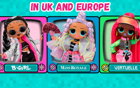 LOL OMG Dance dolls are up for preorder in Europe and UK!
