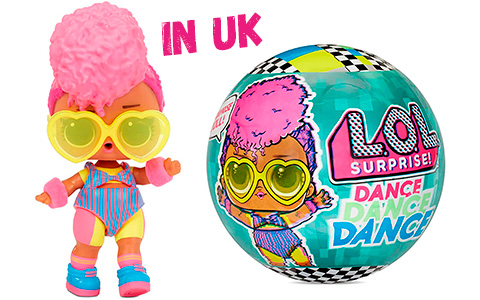 LOL Surprise Dance dolls are up for preorder in UK!