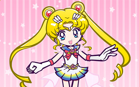 Eternal Sailor Moon Puyopuyo Quest style pictures