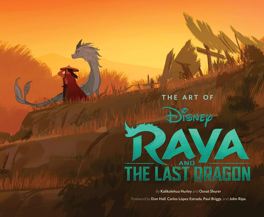 Raya and the Last Dragon art book