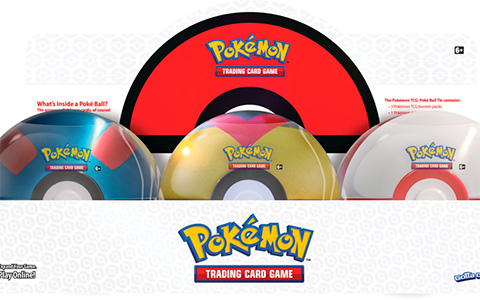 Pokemon TCG: Poke Ball Tin Spring 2021