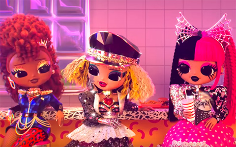 LOL OMG I'M A QUEEN official clip with Ferocious, Bhad Gurl, Fame Queen, Metal Chick and Candylicious