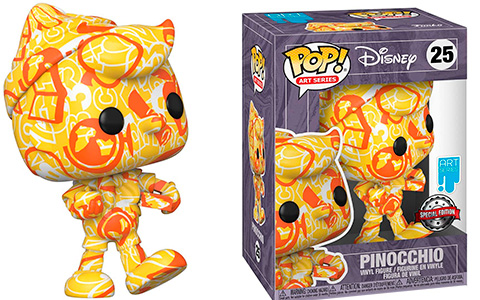 Funko Pop Artist Series: Disney Treasures of The Vault Pinocchio
