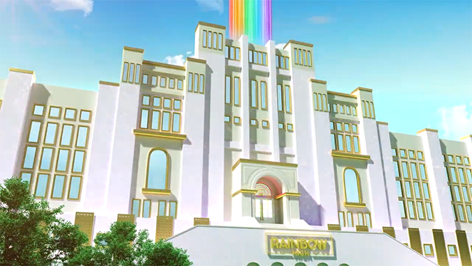 Rainbow High school image from the episodes