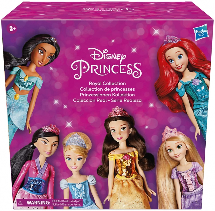 Disney Princess Royal Collection - 12 Royal Shimmer dolls in one set