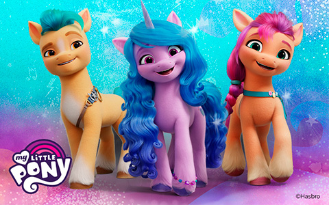 First look at new My Little Pony G5 characters from My Little Pony Netflix Movie 2021