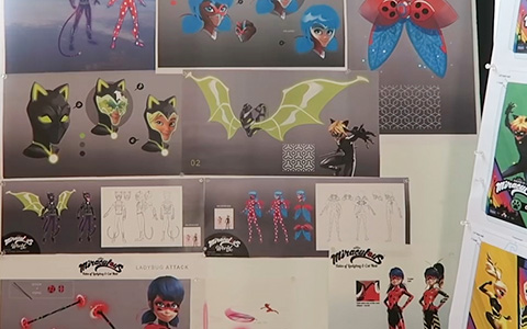 Miraculous Ladybug and Cat Noir season 4 concept arts