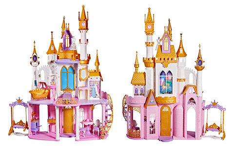 Disney Princess Ultimate Celebration Castle - new doll house for princess dolls