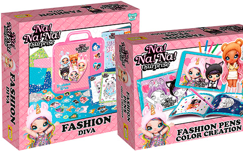 Na Na Na Surprise Creative sets: My Secret Diary, Magic Pens, Fashion School and more
