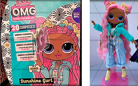 LOL OMG Series 5 dolls Moonlight B.B. and Sunshine  - big sisters Dawn and Dusk