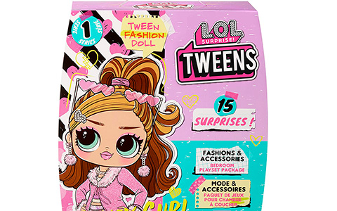 LOL Surprise BTW Be Tweens dolls: Cherry B.B, Hoops Cutie, Freshest and Fancy Gurl