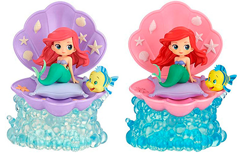 Disney Q Posket Stories Ariel figures