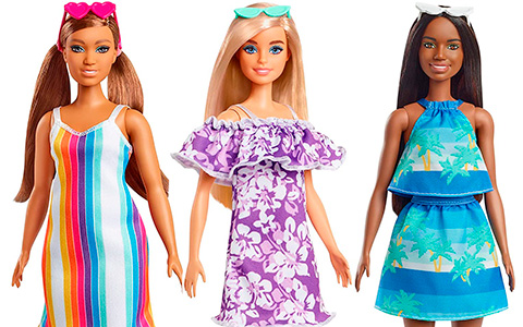 Barbie Loves the Ocean dolls