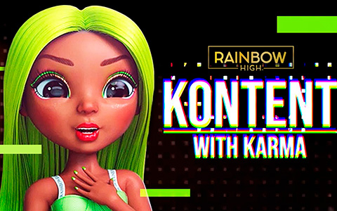 Update with Kontent with Karma about this episode. Rainbow High animated series Episode 14 - All About Aidan.