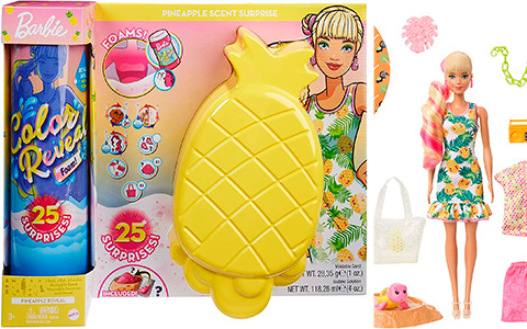 Barbie Color Reveal Foam Scented Surprise doll sets