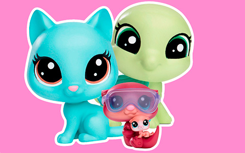 LITTLEST PET SHOP collection 2017