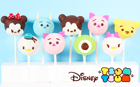 How to Make Disney Tsum Tsum Cake Pops