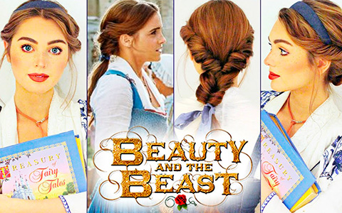 Beauty and the Beast Hair Tutorials