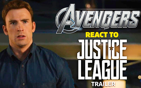 Amazing video: The Avengers react to Justice League trailer