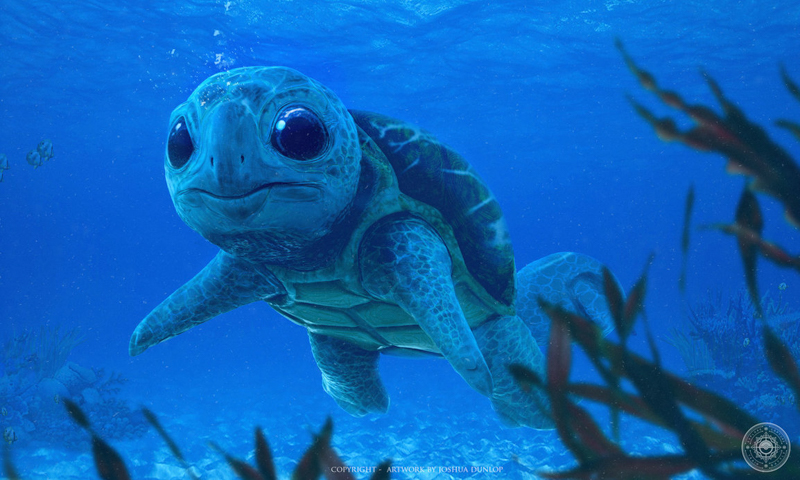 Real life Squirtle