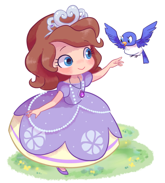 Beautiful fanart of Sofia the First