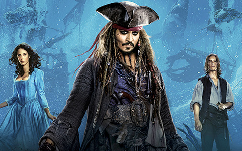 Pirates of the Caribbean 5: Big HD posters collection
