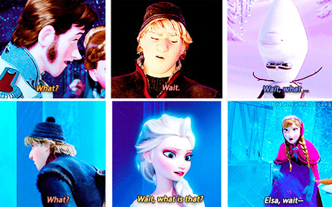 So many wait?'s and what?'s in Frozen