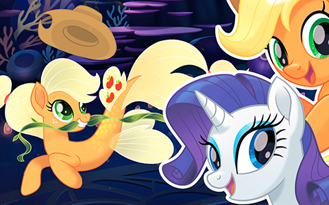 My Little Pony The Movie: Never before seen images of sea ponies mermaids