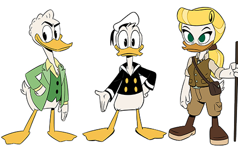 First Look: New faces of new DuckTales characters