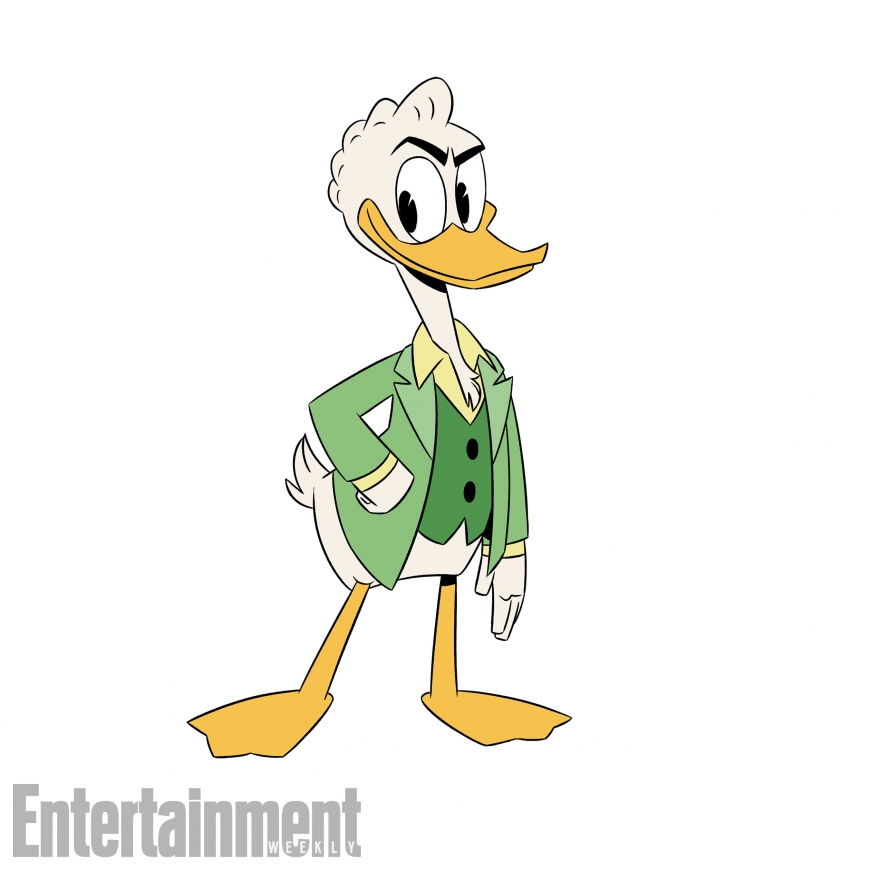 New DuckTales Gladstone Gander