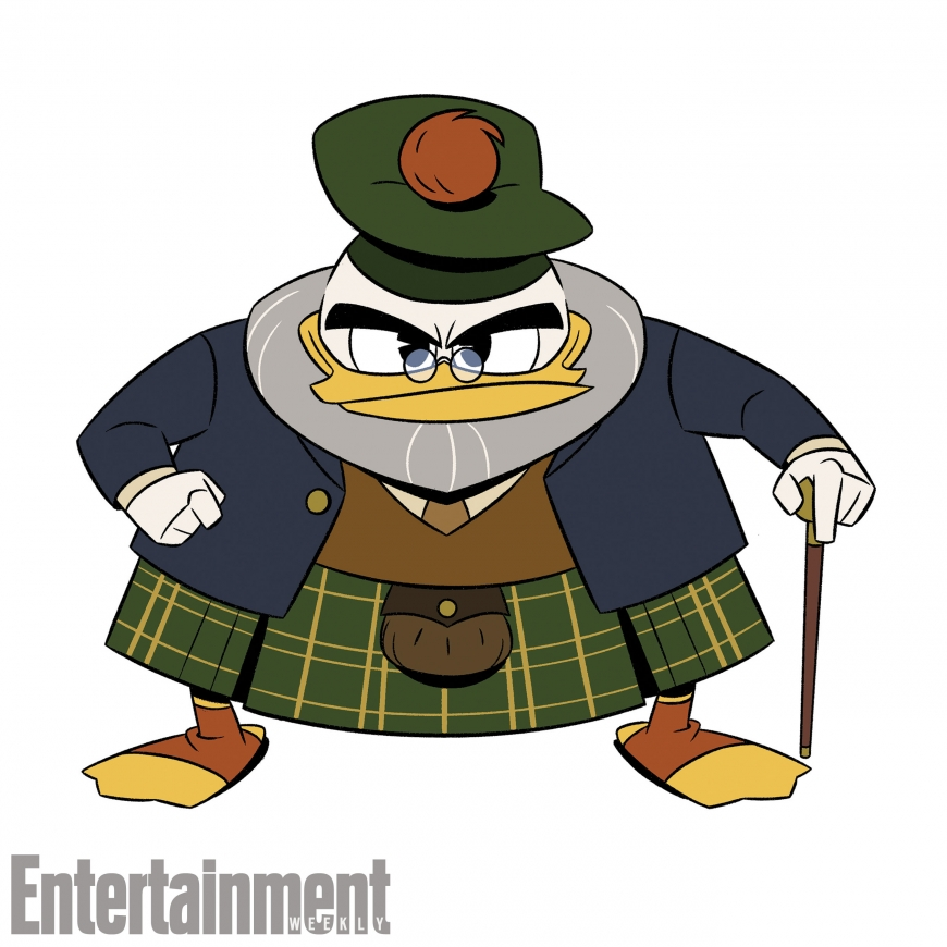 New DuckTales Flintheart Glomgold