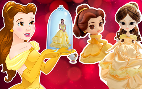 New Beauty and the Beast princess Belle dolls: Pullip, Hot Toys, Nendoroid and more